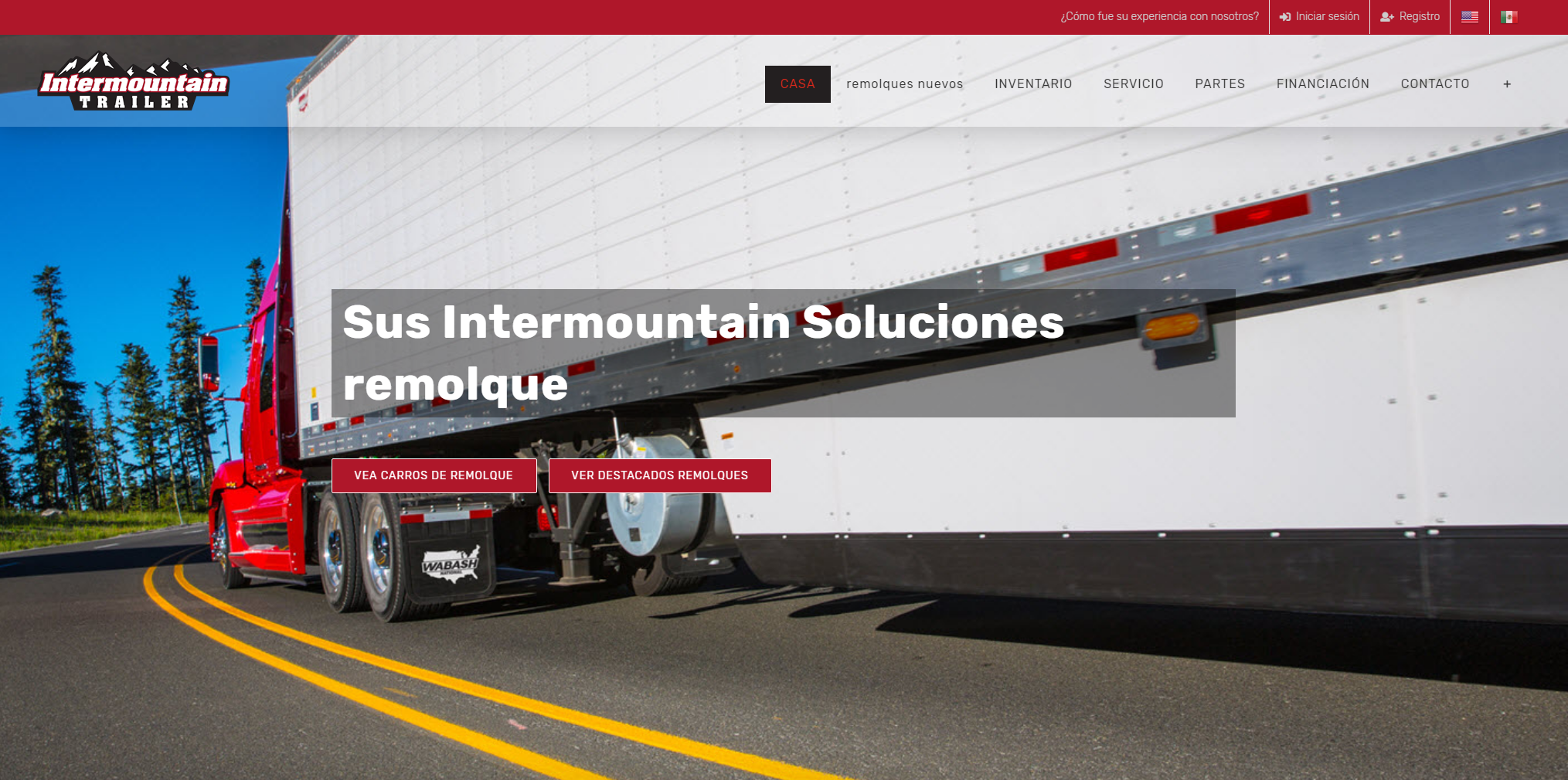 Intermountain Trailer Spanish Translated Website