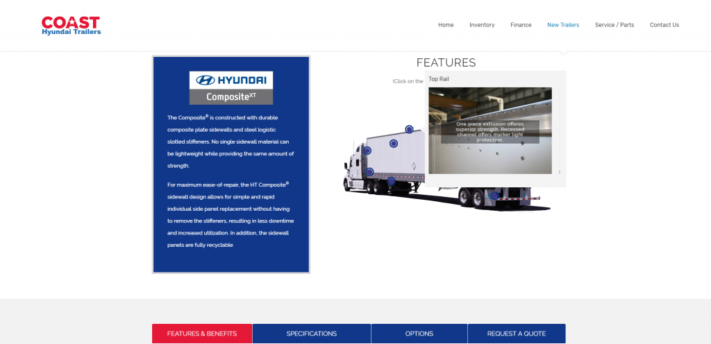 Coast Hyundai Trailers Website