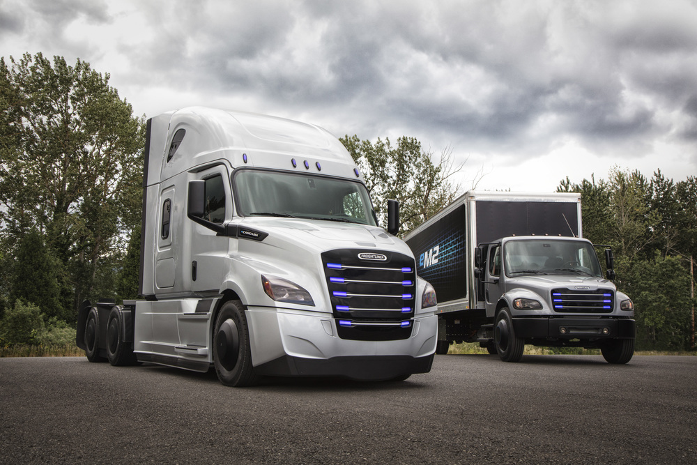 Freightliner Will Make Electric Cascadia & M2 106 Models