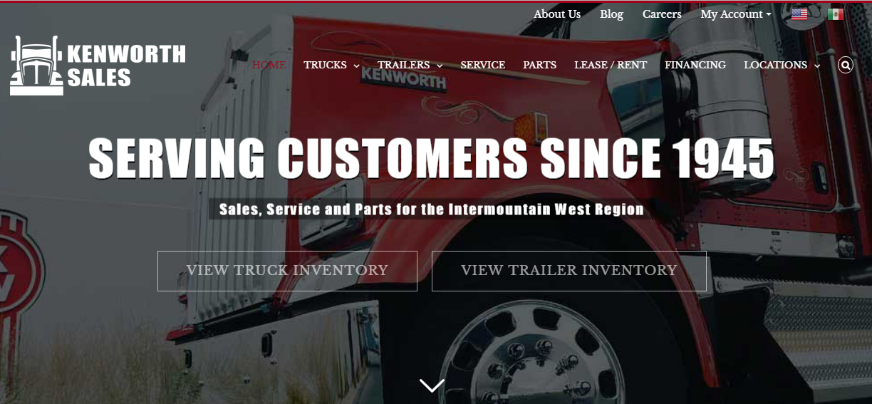 Buzznerd Trucks Launch New Kenworth Sales Company Website