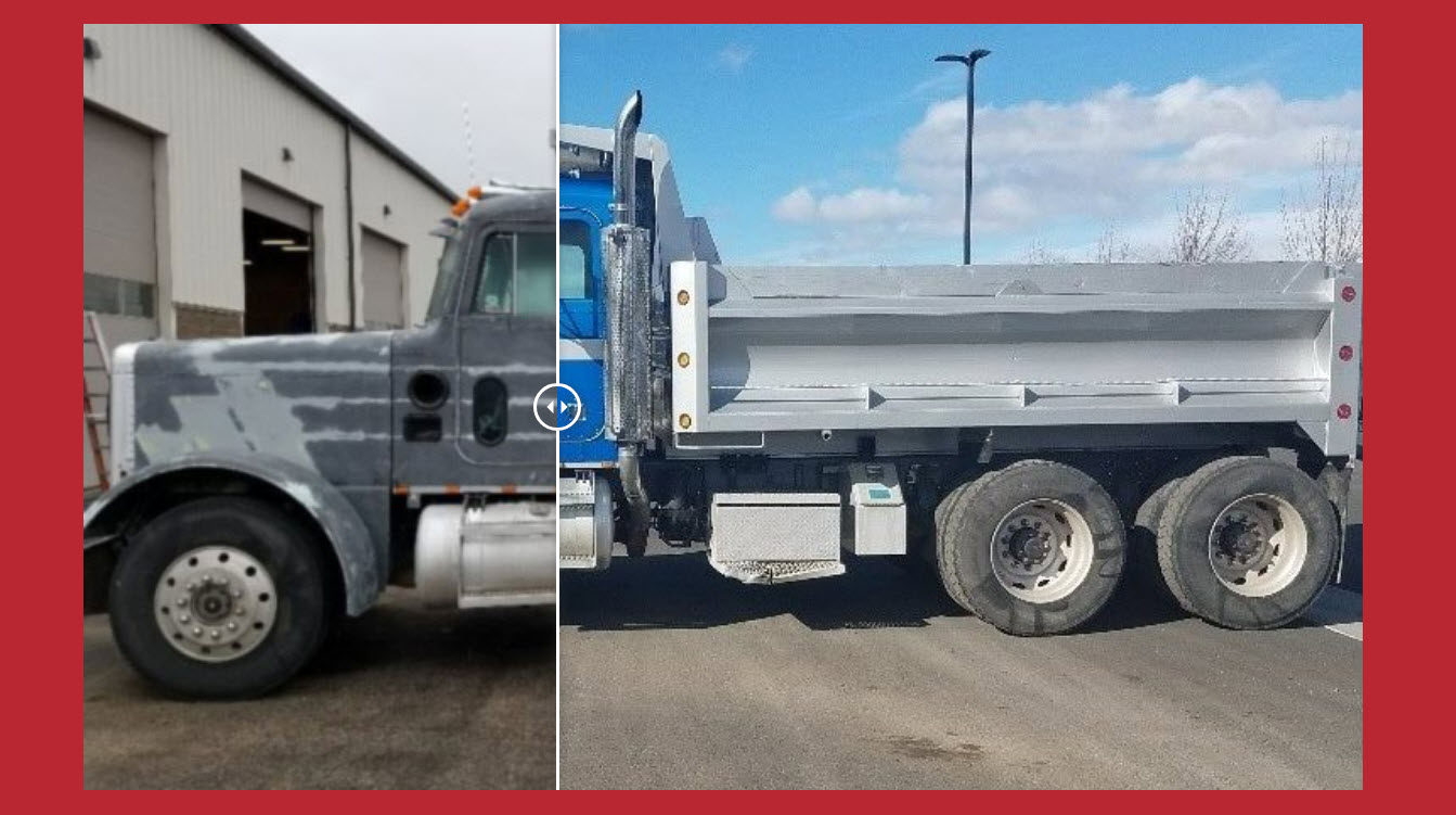 Utility Trailer Sales of Oregon - Before & After Treatment