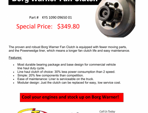 Borg Warner Fan Clutch Special