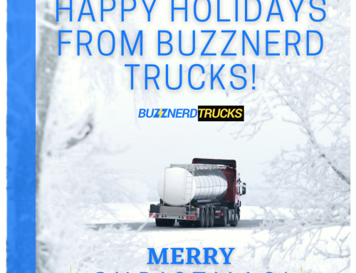 Happy Holidays from Buzznerd Trucks!
